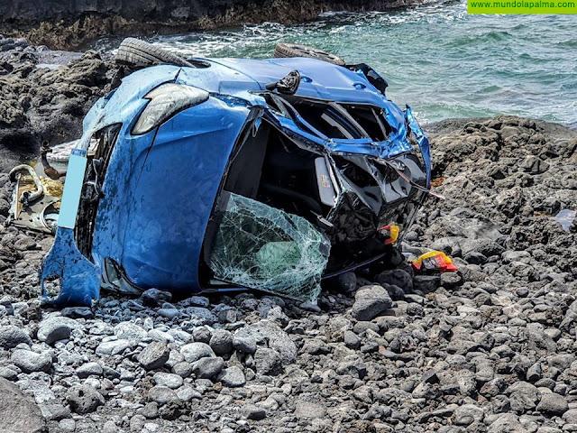 Un Varón fallecido tras el vuelco de un vehículo en Puerto Naos