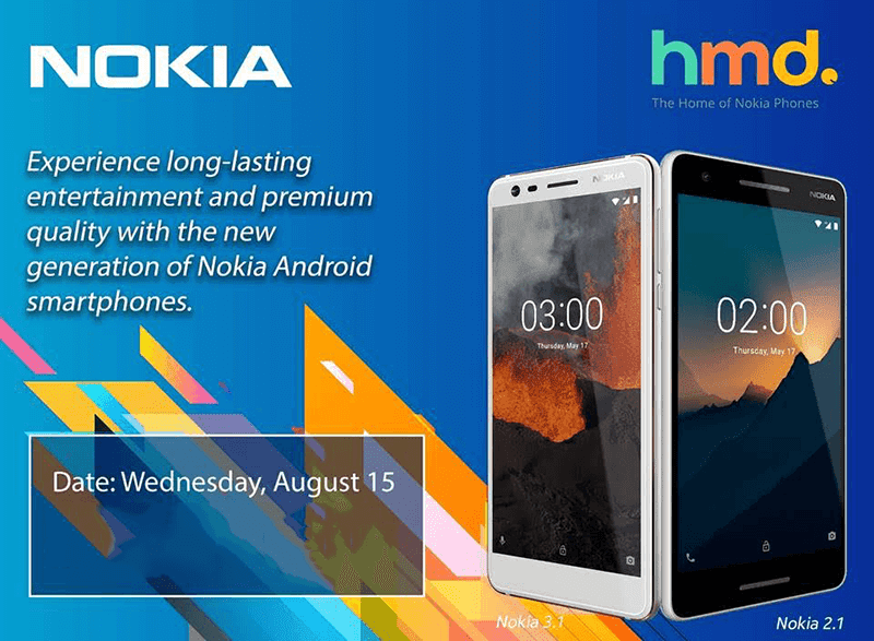 Nokia 2.1 and 3.1 is coming to the Philippines!