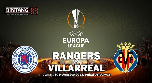 Prediksi Rangers Vs Villarreal 30 November 2018