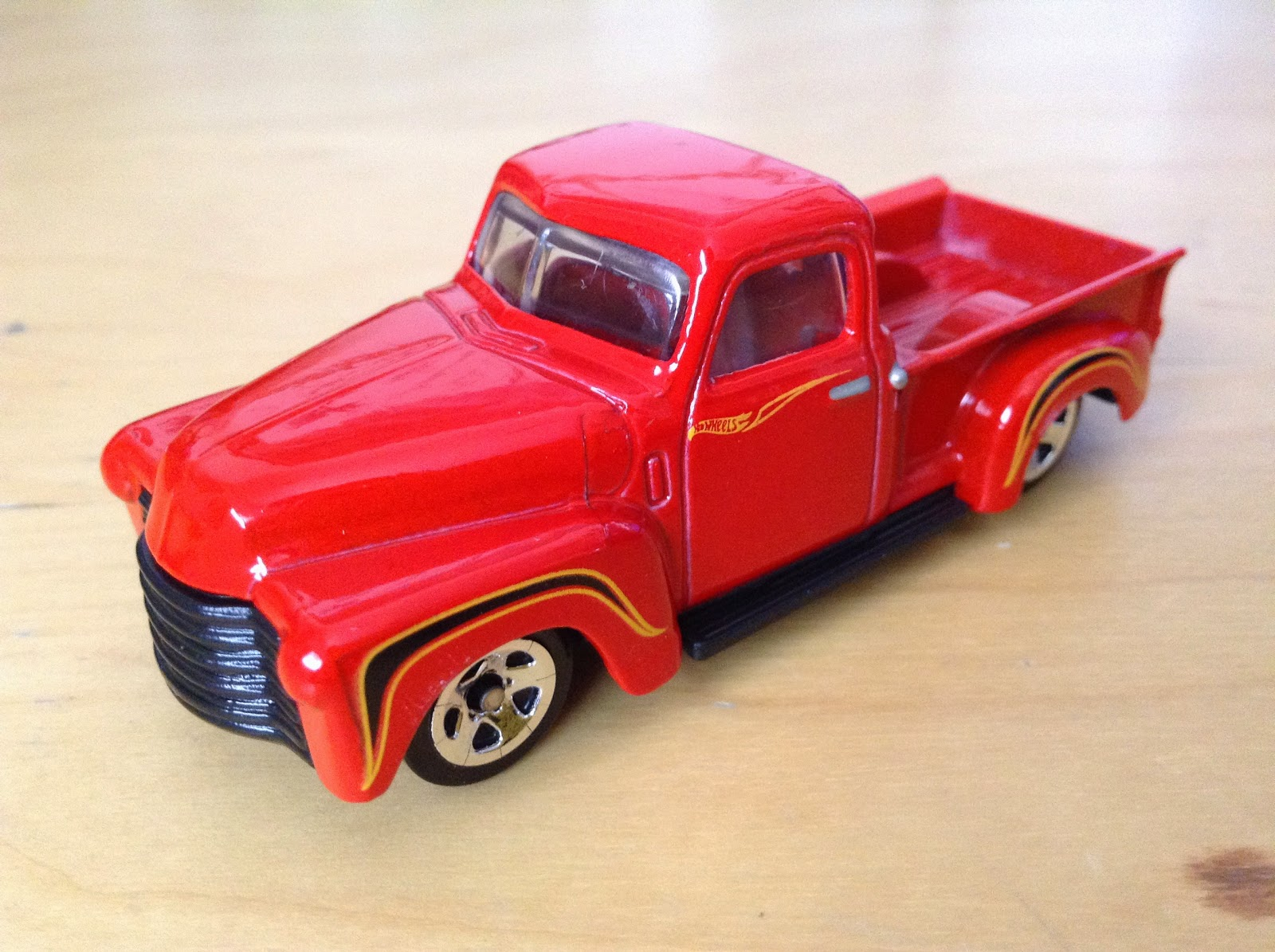 Julians Hot Wheels Blog 52 Chevy Pickup Truck 2015 Then And Now 1968 50th Anniversary