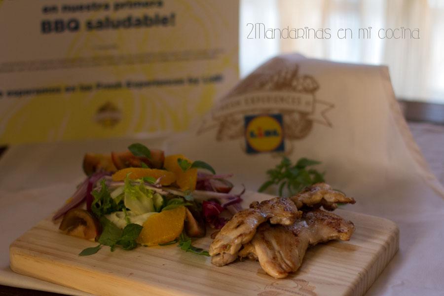 Contramuslos de pollo a la parrilla #lidlfresh