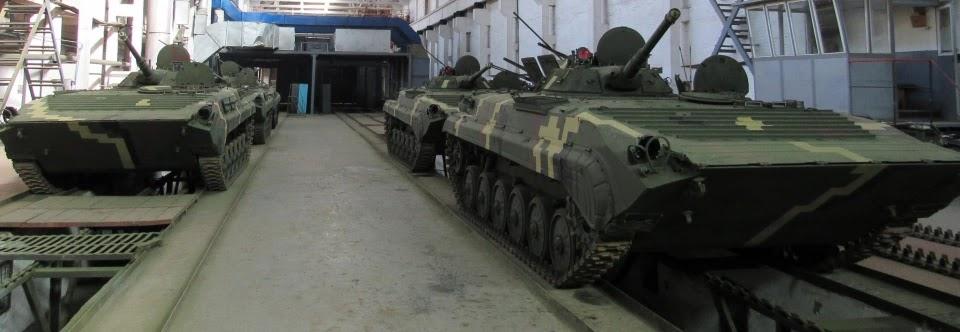 ЖБТЗ передав військовим партію модернізованих БМП