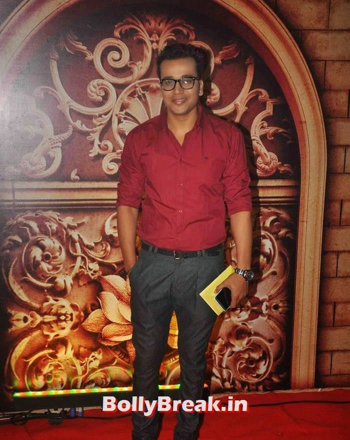 Anurag Sharma, Zee Rishtey Awards 2014 Photo Gallery