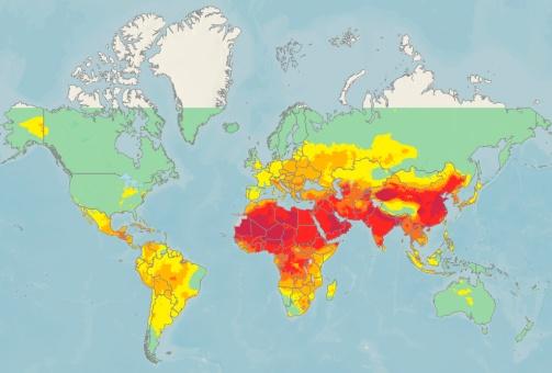 92 % de la población mundial vive en zonas muy contaminadas