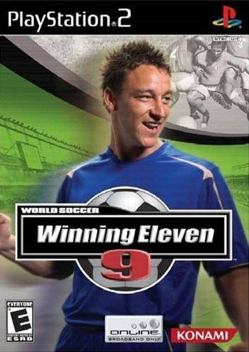 World Soccer Winning Eleven 9 ps2 iso rom download