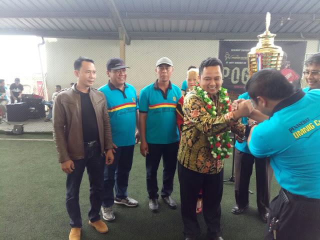 Walikota Tangerang Hadiri Turnamen Futsal OMNIG Cup 2017