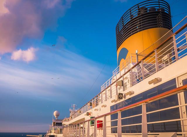 A bordo di Costa Diadema