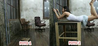 contoh bahan foto untuk edit foto levitasi di picsay pro