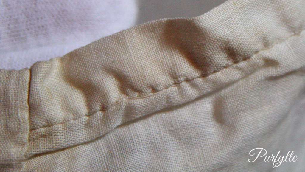 placket stitching 1927 underwear