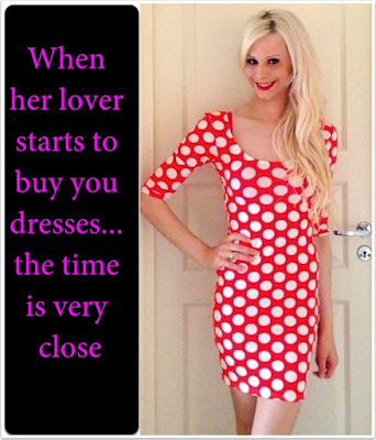 Her lover is buying you dresses TG Caption - Star TG Captions - Crossdressing and Sissy Tales and Captioned images