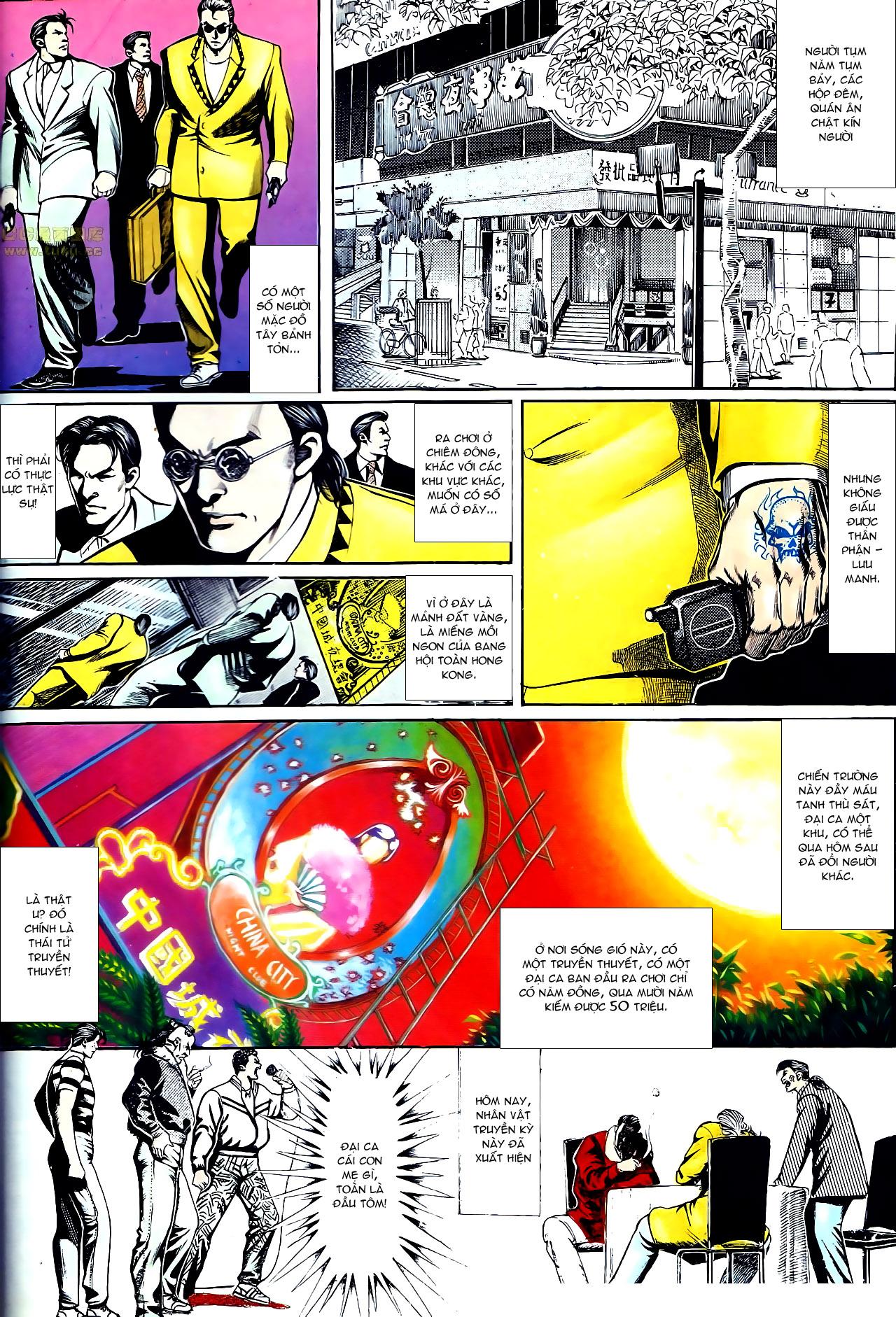 Người Trong Giang Hồ chapter 153: xích mích trang 3