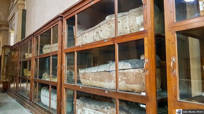 Sarcófagos do Museu do Cairo, Egito