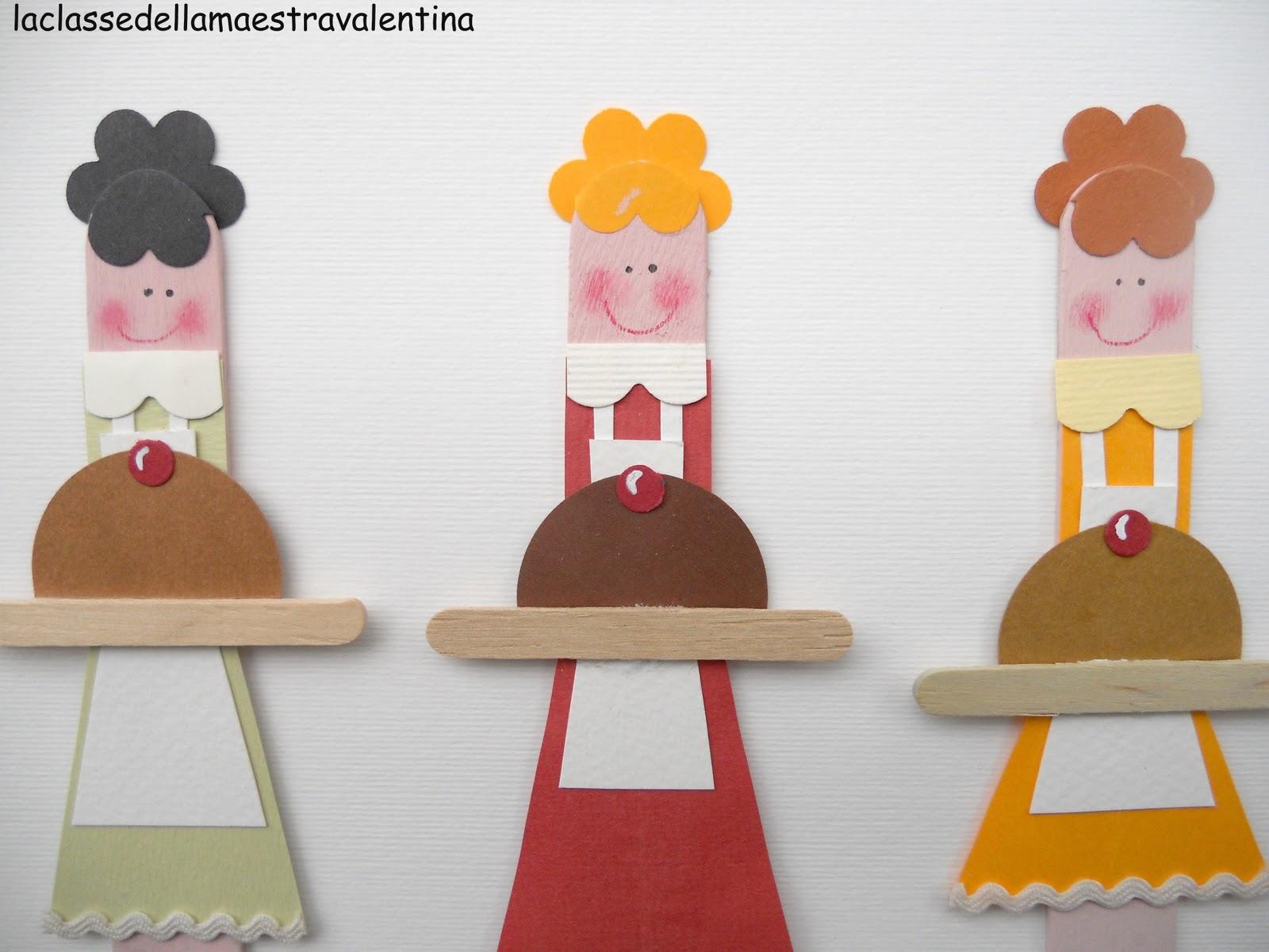 La Classe Della Maestra Valentina Segnalibri Per La Festa Della Mamma 1