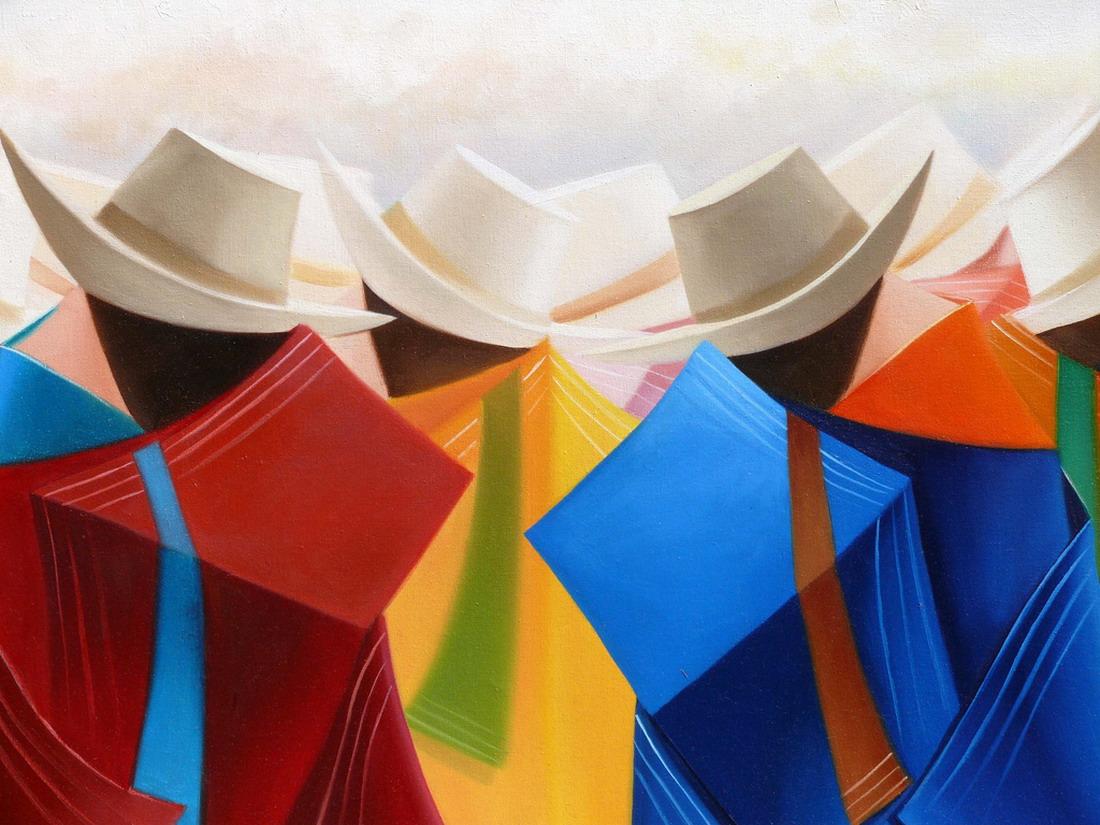 Cuadros modernos pinturas y dibujos cubismo minimalista for Cuadros de oleo modernos