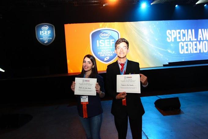 RN: Estudantes de escola estadual de Baraúna têm projeto premiado na maior feira de ciências do mundo nos Estados Unidos