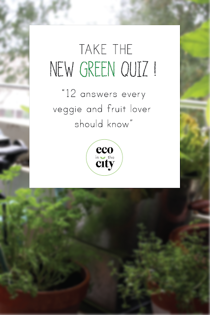 New Green Quiz: vegetable and fruit