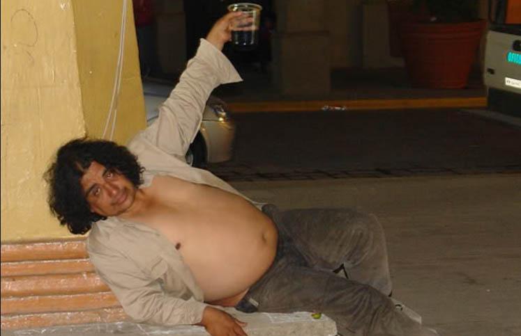 vídeos de borrachos. alcalde cabrón y borracho de la arbolada