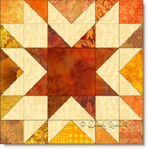 Memory quilt block image © Wendy Russell
