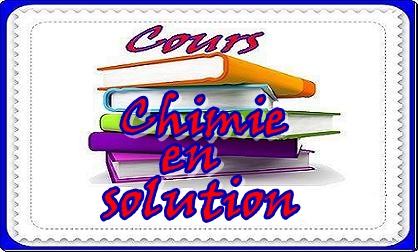 PDF Cours + TD + Examen Chimie en Solution SMPC 2