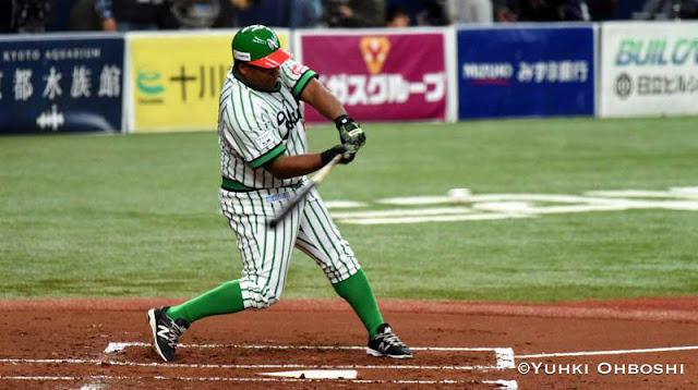 ¿Será Alfredo Despaigne el próximo bateador de 40 HR's en Japón? Esa es una pregunta que seguirá rondando por algunos meses más.