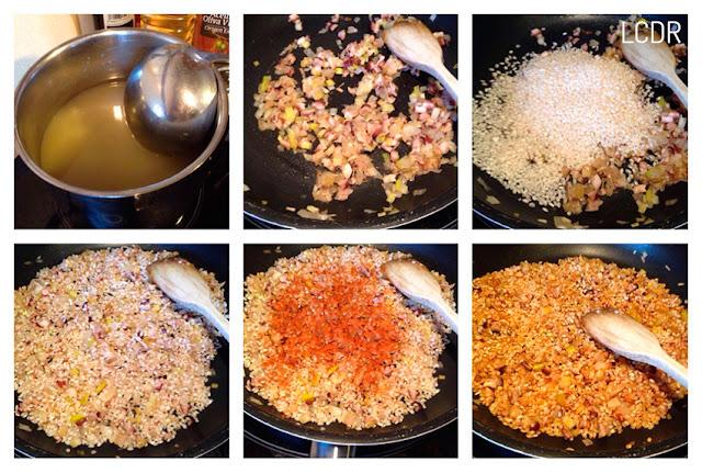Receta de risotto de pulpo al pimentón 02