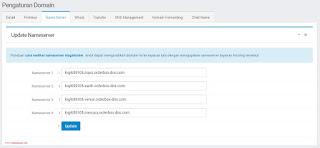 Cara Mengganti Domain Blogspot Menjadi .COM di Niagahoster 5