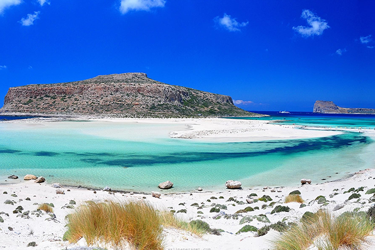 33 Amazing Beaches From Around The World - Balos Beach and Lagoon Kissamos, Crete, Greece