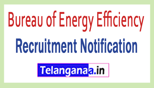 Bureau of Energy Efficiency BEE Recruitment