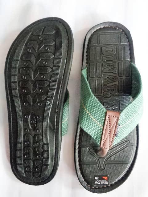 Sandal Spon Dinar MAs Tali hijau atas