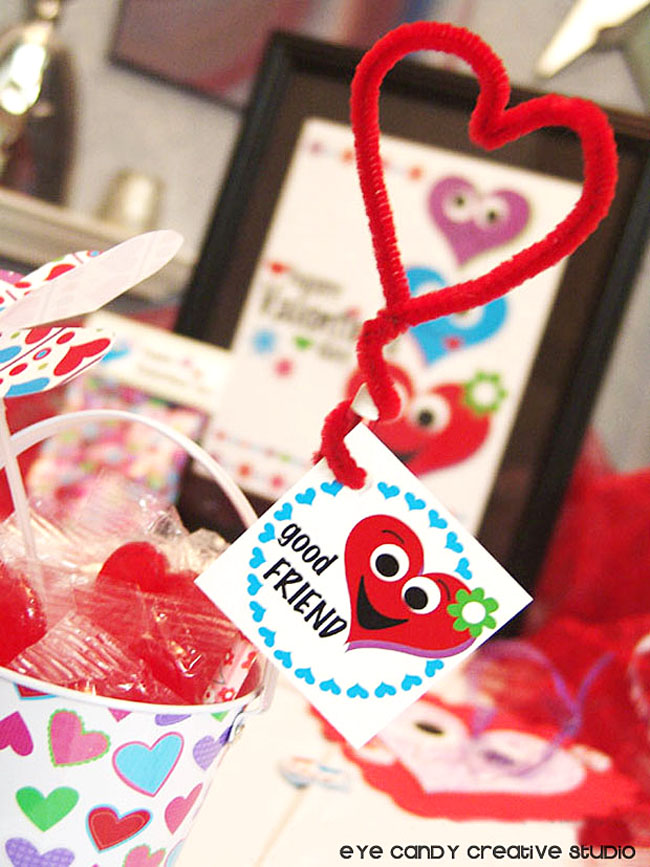 pipe cleaner craft, kid valentine idea, pencil craft, valentines day craft