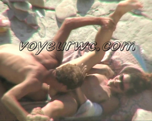 BeachHunters Sex 19430-19528 (Hot Nudist Couples spy cam at the beach)