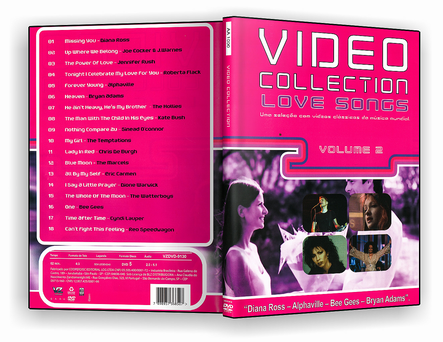 CAPA DVD – Love Songs Video Collection Vol.2 – DVD-R