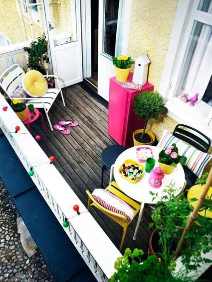 Small Balconies With Style 1