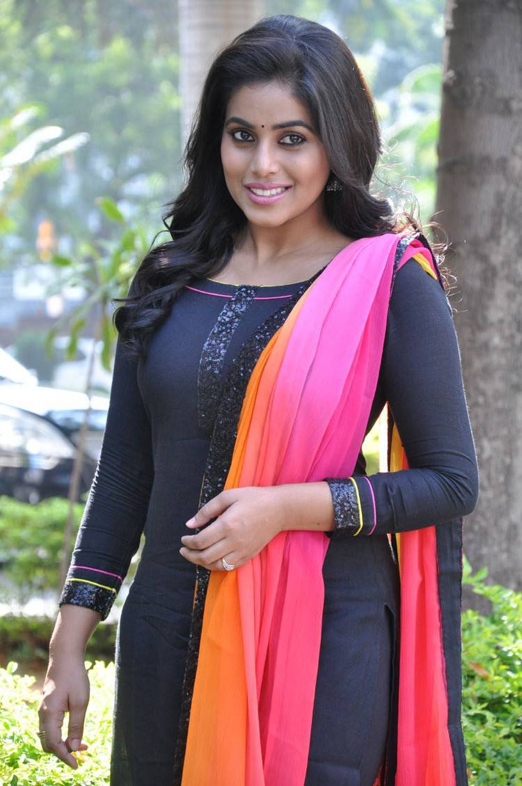 Actress Poorna Latest Cute Hot Spicy Photos Gallery at Rajugari Gadi Release Press Meet