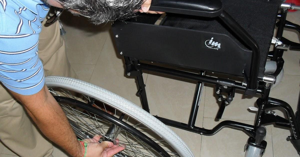 Silla de ruedas de acero con quick release o desmontado for W de porter ortopedia