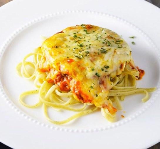 Eggplant Parmesan Recipe #dinner #vegetarian