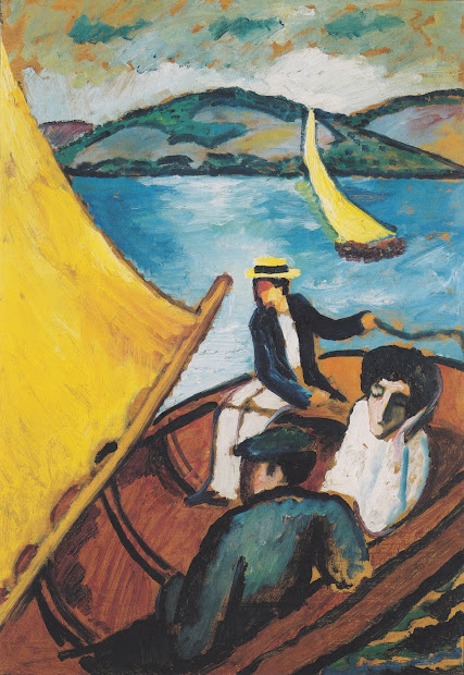 August Macke Expressionist Painter Tutt'art Pittura Scultura Poesia Musica