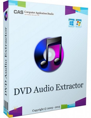 DVD Audio Extractor 7.5.0 poster box cover