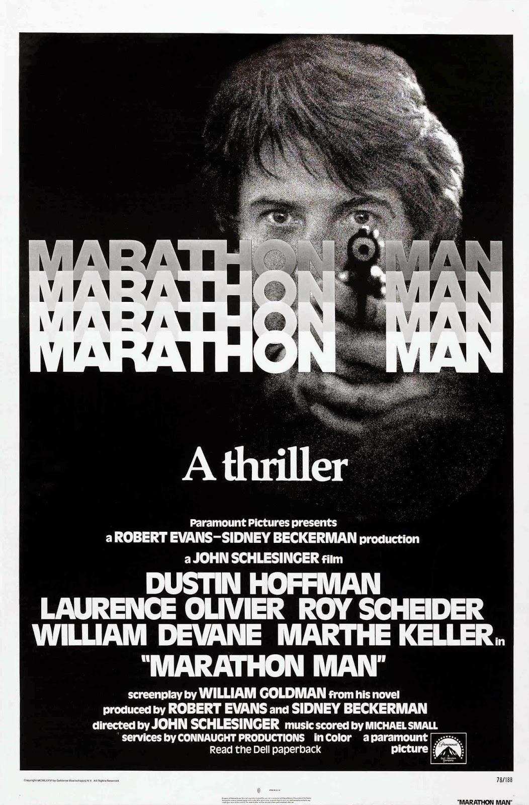 MARATHON MAN (1976). La carreras de Dustin Hoffman. « LAS ...
