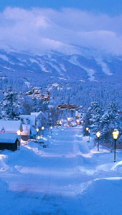 Breckenridge Town, Colorado, USA