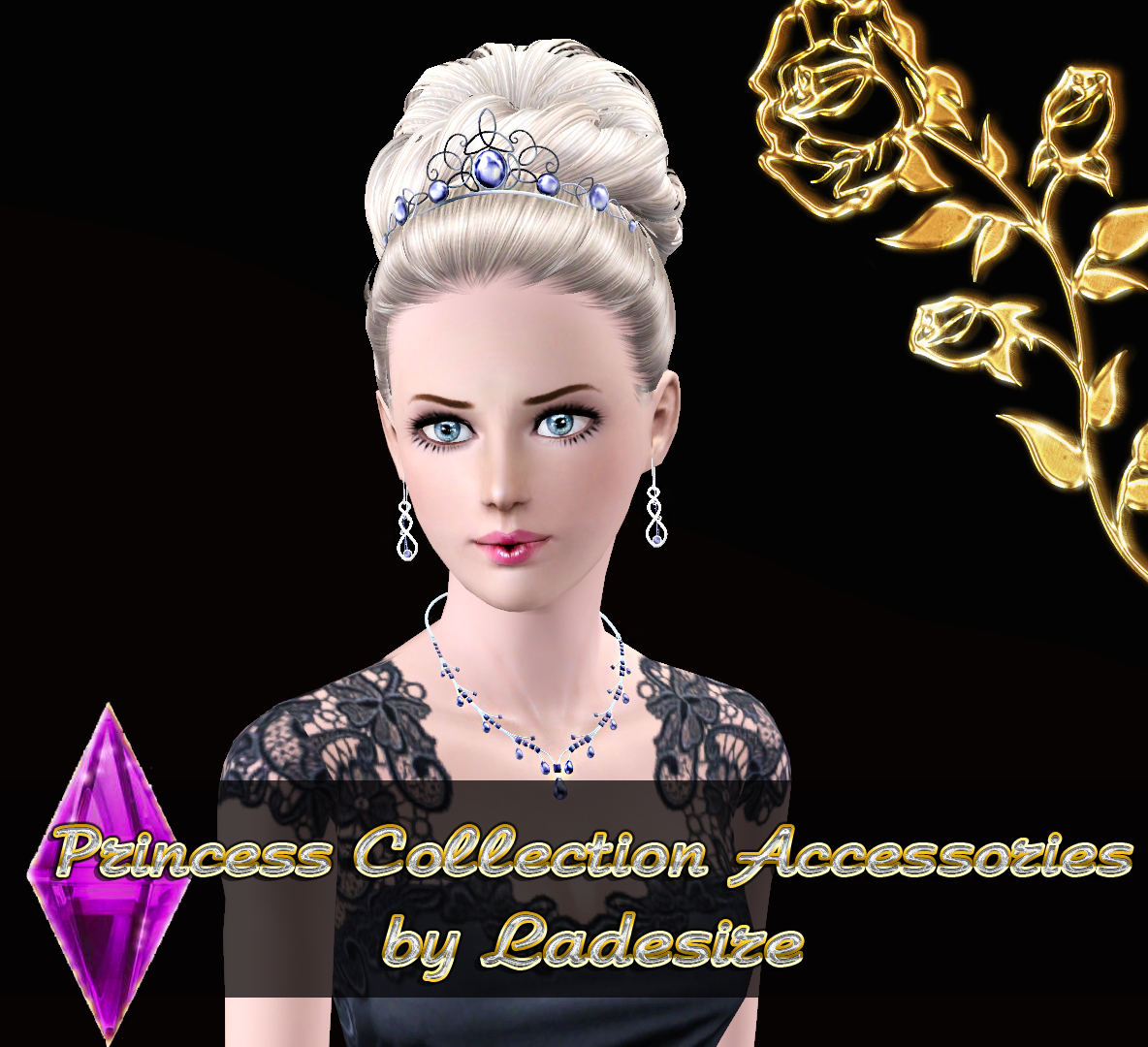 Ladesires Creative Corner Princess Set Accessories By
