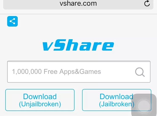 Download And Install vShare On iPhone Without Jailbreak