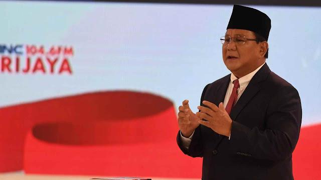 Prabowo Sentil Jokowi: Banyak Infrastruktur Dibangun Grasa-grusu