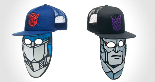 Transformers Trucker Mask Hat