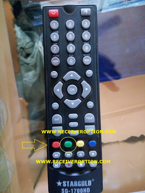 STARGOLD SG-1700HD RECEIVER POWERVU KEY OPTION