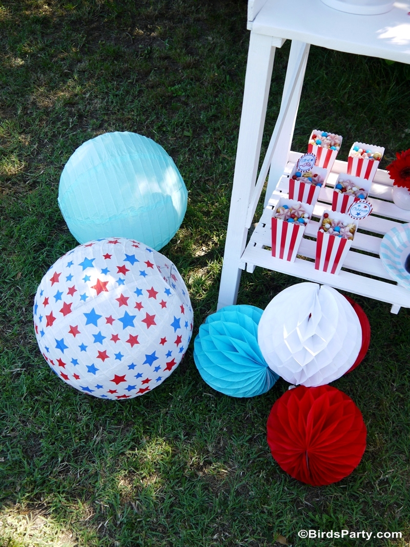 4th of July Garden Picnic Party Ideas - Party Ideas | Party ...