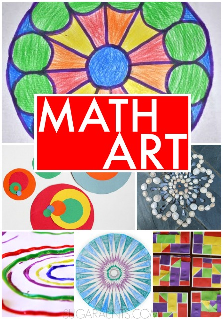 Math Art Activities The Ot Toolbox