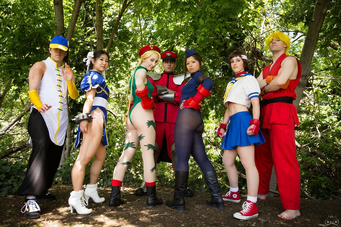 Street fighter cosplay costume