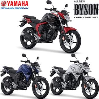 Pilihan Warna Yamaha Byson FI New Injection