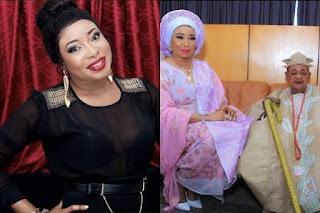 Lizzy Anjorin & Alaafin of Oyo, Oba Lamidi Adeyemi